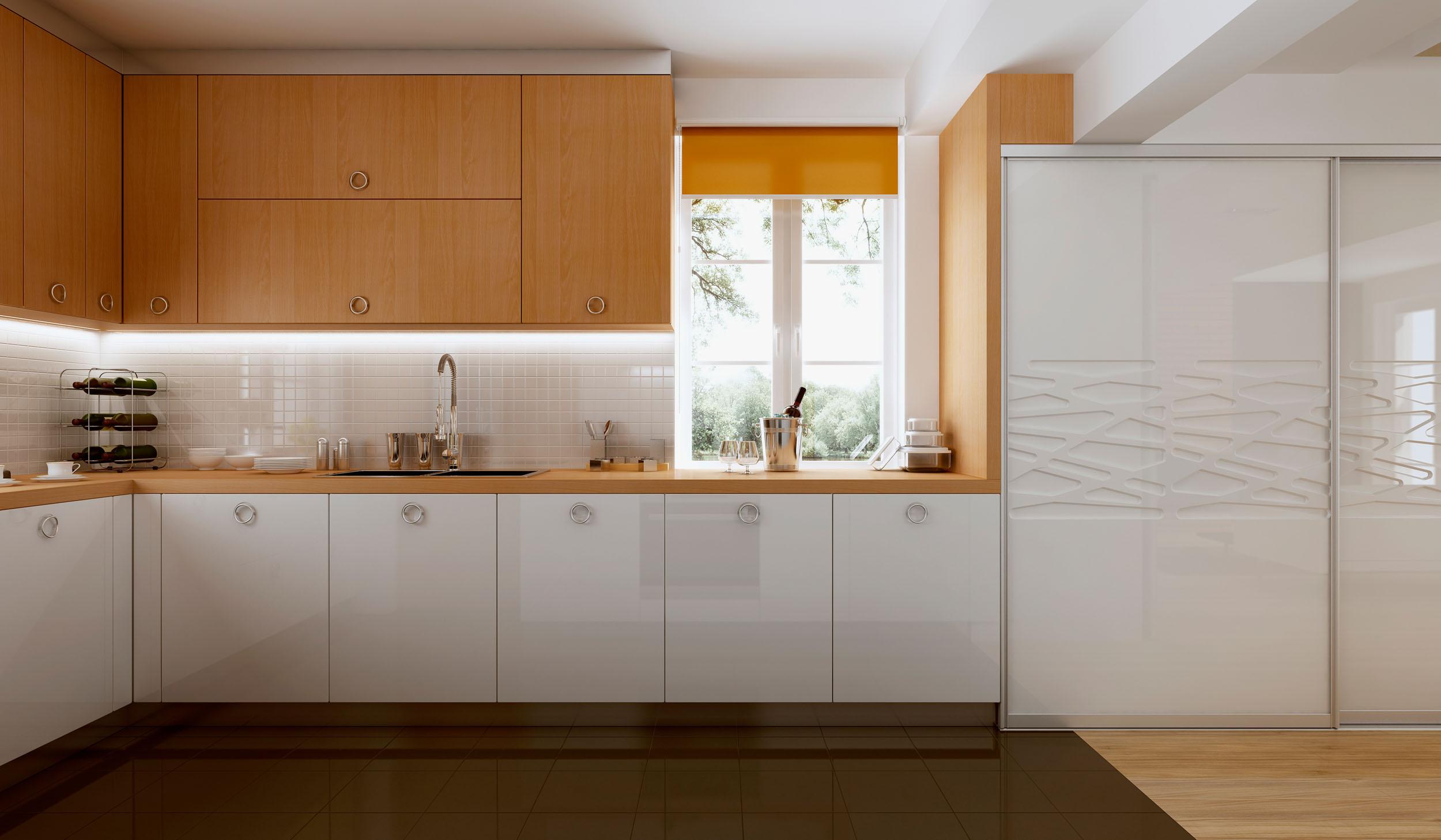 Кухонные шкафы.